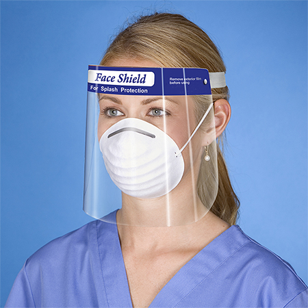Single-Use Face Shield(Part #FBFS)
